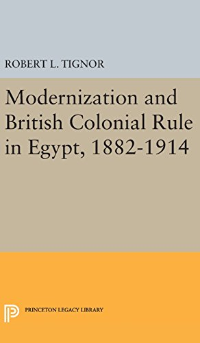 9780691650289: Modernization and British Colonial Rule in Egypt, 1882-1914 (Princeton Studies on the Near East)