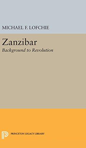 9780691650876: Zanzibar: Background to Revolution (Princeton Legacy Library)