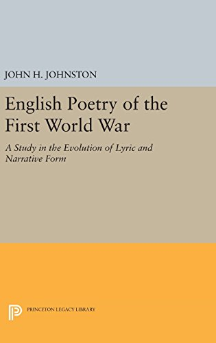 9780691651538: English Poetry of the First World War