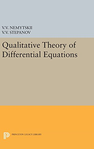 9780691652283: Qualitative Theory of Differential Equations (Princeton Legacy Library)