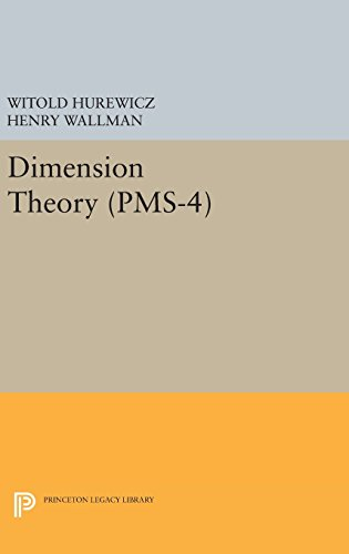 9780691653686: Dimension Theory (PMS-4) (Princeton Mathematical Series)