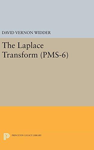 9780691653693: Laplace Transform (PMS-6) (Princeton Legacy Library)