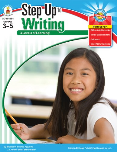 9780692002001: Step Up to Writing, Grades 3 - 5 (Step Up Series)