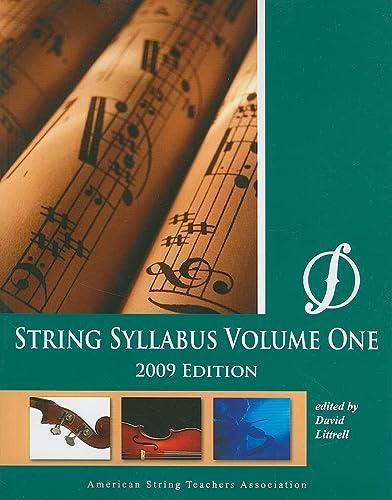 9780692002025: String Syllabus, Vol 1