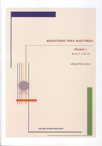 PEREZ RISCO M. - Miniaturas Vol.1: n?: PEREZ RISCO M.