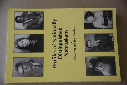 9780692009437: Profiles of Nationally Distinguished Nebraskans