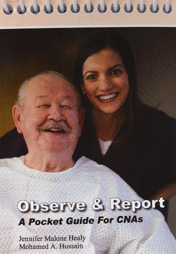 "9780692010167: Observe & Report ""A Pocket Guide for CNA's"""