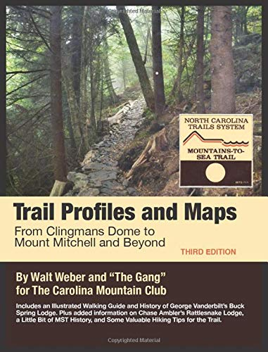 9780692106952: Trail Profiles and Maps: From Clingmans Dome to Mount Mitchell and Beyond