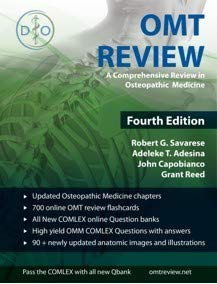 Download OMT Review (A Comprehensive Review in Osteopathic Medicine)