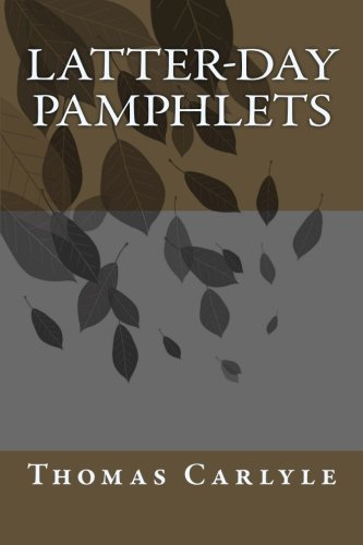 9780692202401: Latter-Day Pamphlets