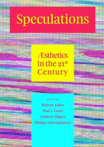Speculations V: Æsthetics in the 21st Century: Speculations Journal