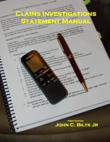 9780692203170: Claims Investigation Statement Manual