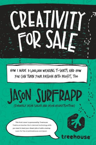 9780692207949: Creativity For Sale: How I Made $1,000,000 Wearing T-Shirts And How You Can Turn Your Passion Into Profit, Too