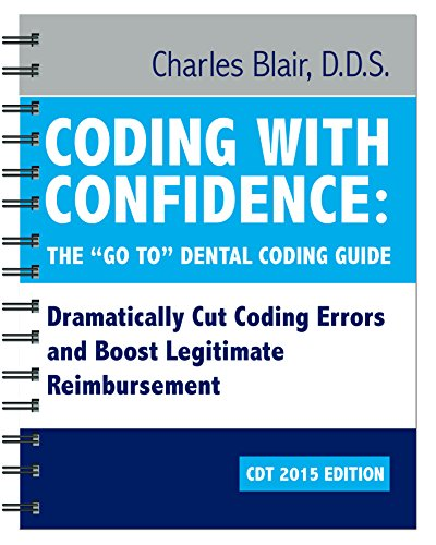 9780692219614: Coding with Confidence (CDT-2015 Edition)