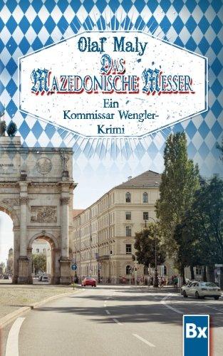 9780692222195: Das mazedonische Messer: Eine Kommissar Wengler Geschichte (German Edition)