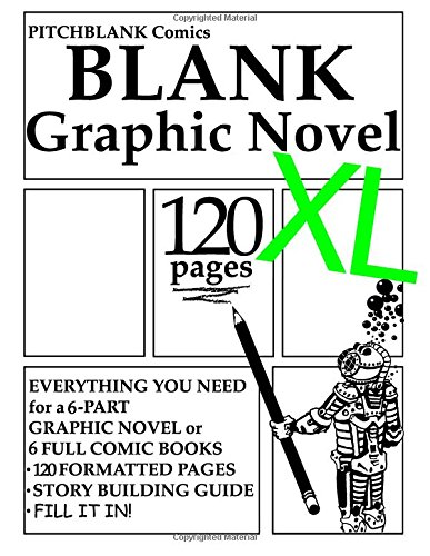 9780692250198: Blank Graphic Novel XL: 120 Formatted Pages Plus Guide