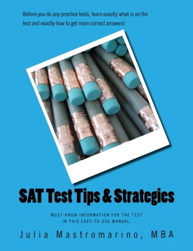 9780692250853: SAT Test Tips & Strategies: Learn for the Test