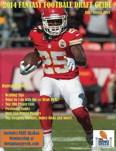 9780692252598: 2014 Fantasy Football Draft Guide (The Fantasy Greek Fantasy Football Draft Guide)