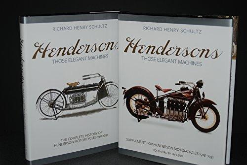 9780692257418: Hendersons Those Elegant Machines