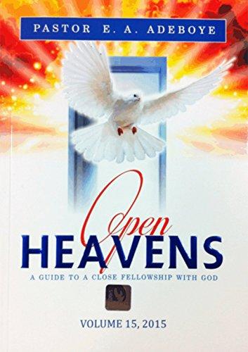 9780692272275: Open Heavens 2015