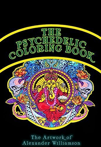 9780692284469: The Psychedelic Coloring Book (High Quality Paper Ready for Nearly Any Medium - Adult Skill Level)