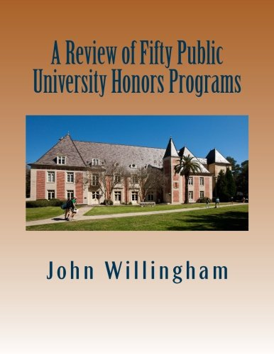 9780692314869: A Review of Fifty Public University Honors Programs