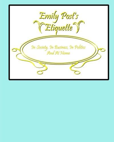 9780692340011: Emily Post's Etiquette