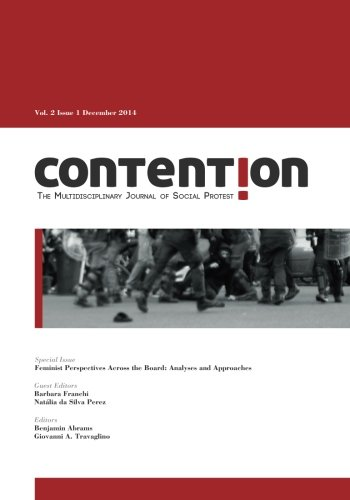 Contention: The Multidisciplinary Journal of Social Protest: Contention Journal
