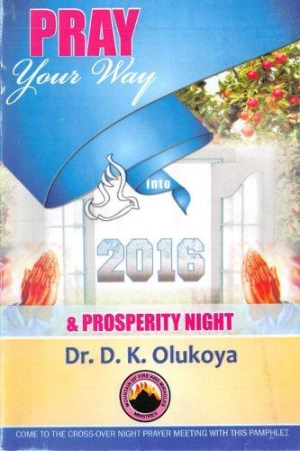 9780692353387: Pray your way into 2016