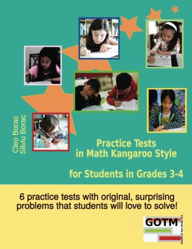 9780692369784: Practice Tests in Math Kangaroo Style for Students in Grades 3-4 (Math Challenges for Gifted Students) (Volume 2)