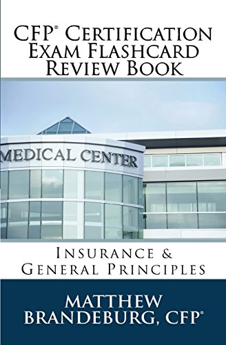 9780692409794: CFP Certification Exam Flashcard Review Book: Insurance & General Principles (4th Edition)