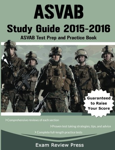 9780692414187: ASVAB Study Guide 2015-2016: ASVAB Test Prep and Practice Book