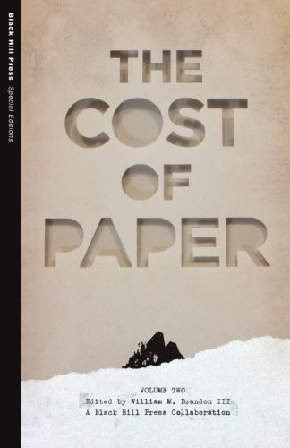 9780692423363: The Cost of Paper (Special Editions)