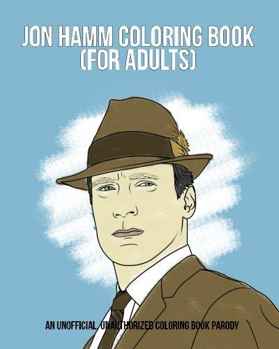 Jon Hamm Coloring Book: Books, Razzberry