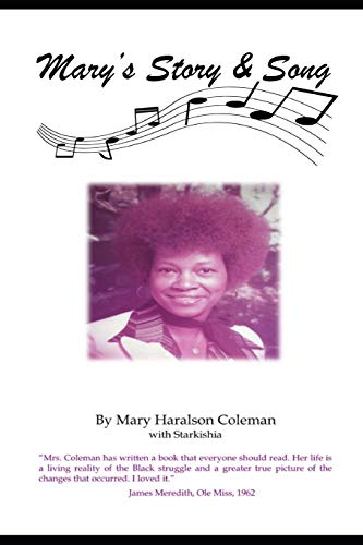 Mary s Story Song (Paperback): Mary Haralson Coleman