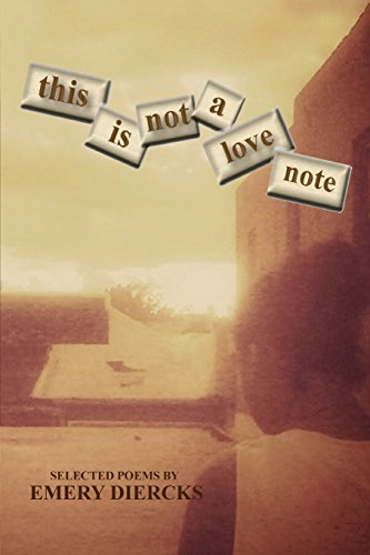 9780692477670: this is not a love note