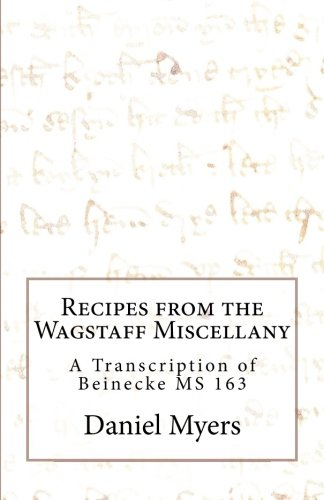 9780692477823: Recipes from the Wagstaff Miscellany