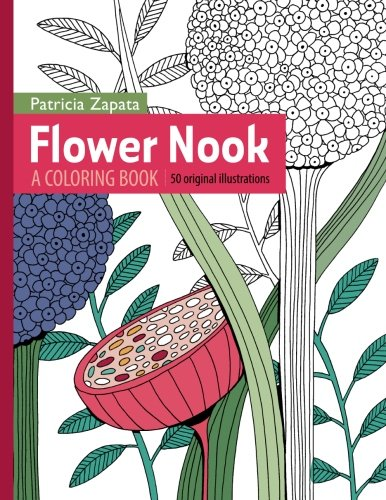 9780692489451: Flower Nook: A Coloring Book