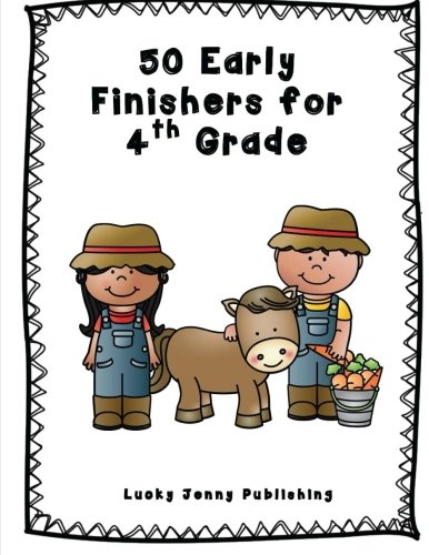 9780692494455: 50 Early Finishers for 4th Grade
