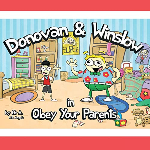 Donovan and Winslow in Obey Your Parents: Andre Washington