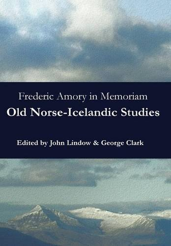 9780692520161: Frederic Amory in Memoriam: Old Norse-Icelandic Studies