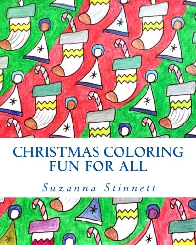 9780692521724: Christmas Coloring Fun For All: Classical Christmas Scenes and Patterns