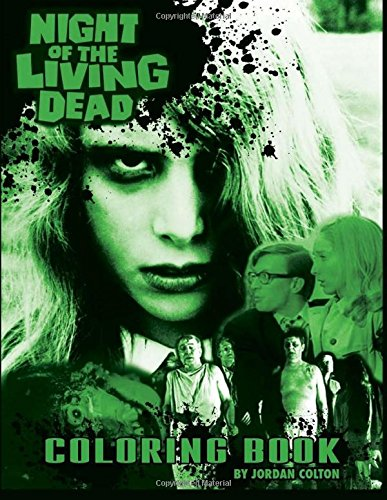 9780692545348: The Night of the Living Dead Coloring Book (Horrid Coloring Books) (Volume 1)