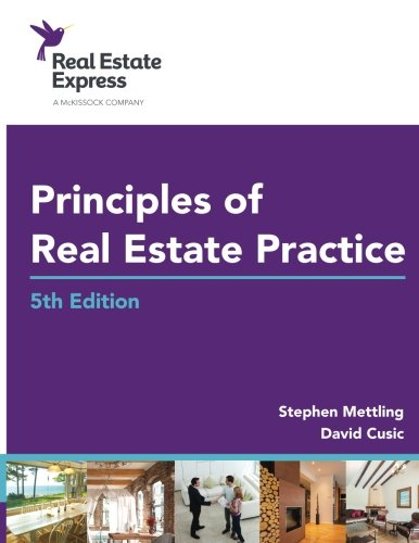 9780692566343: Principles of Real Estate Practice: Real Estate Express 5th Edition