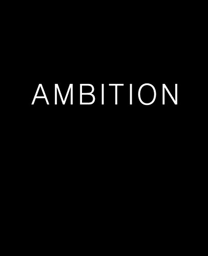 9780692569948: AMBITION Journal (Blank/Lined)