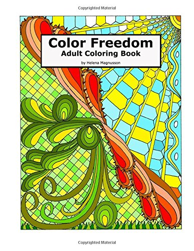 9780692579374: Color Freedom Adult Coloring Book