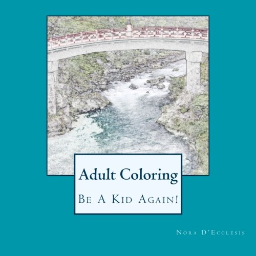9780692583708: Adult Coloring: Be A Kid Again!