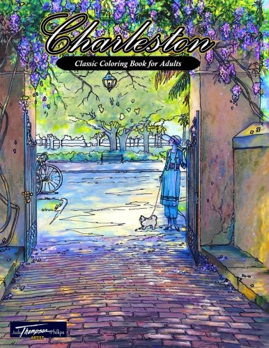 9780692586440: Charleston: Classic Coloring Book for Adults