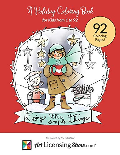 9780692586723: Enjoy The Simple Things: A Holiday Coloring Book for Kids 1 to 92