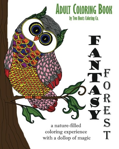 9780692588505: Adult Coloring Book: Fantasy Forest (Adult Coloring Books) (Volume 2)